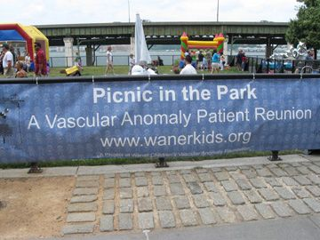 "Banner ""Picnic in the Park"""