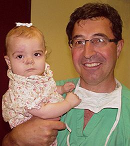Rachel with Dr. Waner